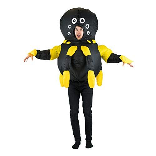 Bodysocks® Aufblasbares Spinne Kostüm für Erwachsene