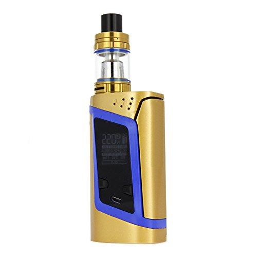 SMOK Alien Kit 220W Farbe gold mit blau - ohne Nikotin