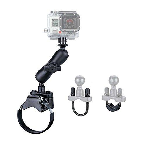 Preisvergleich Produktbild RAM MOUNT XXL Rohrhalter Kit für GoPro Action Cameras - 1 Zoll Kugel RAM-B-149Z-2-GOP1U mit 90mm Arm