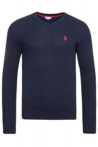 us-polo-assn-v-neck-sweater-herren-pullover-sweatshirt-blau-173-42964-51894-177-grossenauswahlm