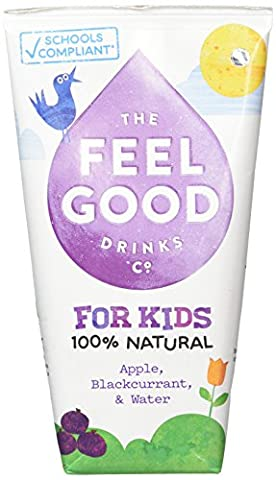 Feel Good Kids Blackcurrant/Apple and Grape Juice 180 ml (Pack of 20)