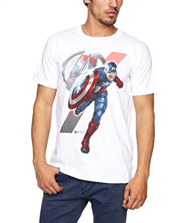 Bravado - T-Shirt - Homme - Blanc (White) - FR: Medium (Taille fabricant: Medium)
