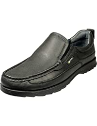 1a138d77d Pod Richie Mens Slip On Leather Upper Shoes Black