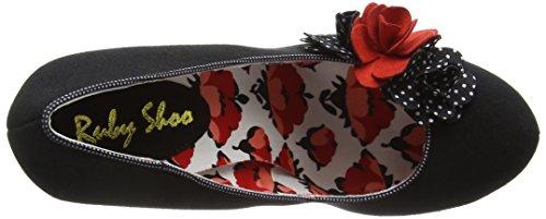 Ruby Shoo Eva - Scarpe con Tacco Donna Nero (Black Spots)