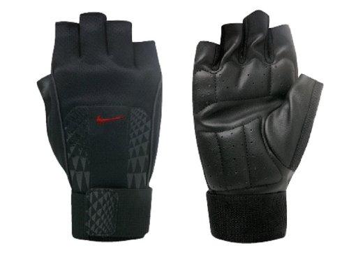 Nike Herren MNS Alpha Structure Lifting Gloves Handschuhe, Black/universityred, L