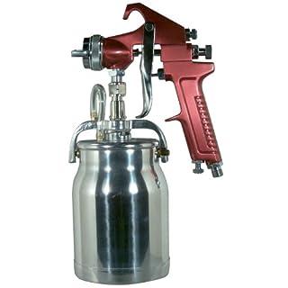 Astro 4008 Spray Gun with Cup, Red Handle, 1.8mm Nozzle