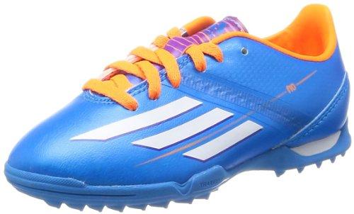 adidas F10 TRX TF J Jungen Fußballschuh-Blue-35.5