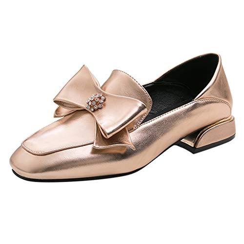 TUDUZ Zapatos De Tacón Calzado De Trabajo Mujer Color
