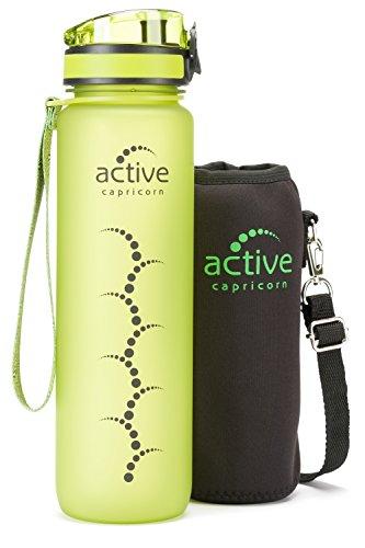 active capricorn Sportflasche Trinkflasche Sportflasche aus Tritan im Test