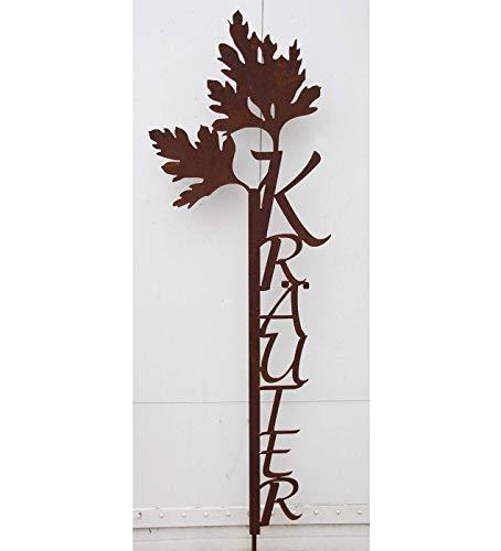 """Gartenstecker, mit Großbuchstaben """"Kräuter"""" - 2"""