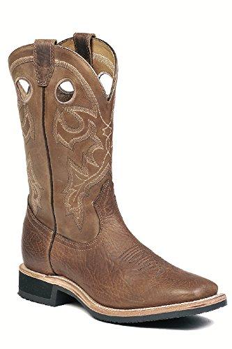 Soul Rebel Stiefel Amerikanischen-Stiefel Western bo-8007-65-e (Fuß Normal)-Herren-Braun, Braun - Braun - Braun - Größe: 43.5 (Männer Boots Western Boulet)