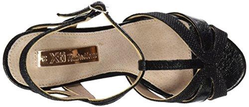 XTI Damen Sandalen mit Absatz 030610 Schwarz