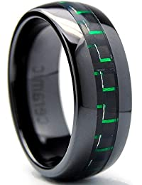 Amazoncouk Ceramic Rings Men Jewellery