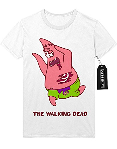 "T-Shirt The Walking Dead ""PATRICK STAR ZOMBIE"" C999965 Weiß"