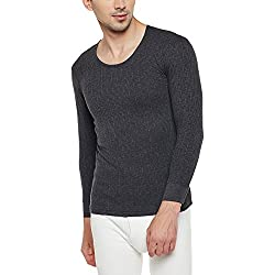 Neva Men Solid Thermal Top Anthra Coloured XX-Large