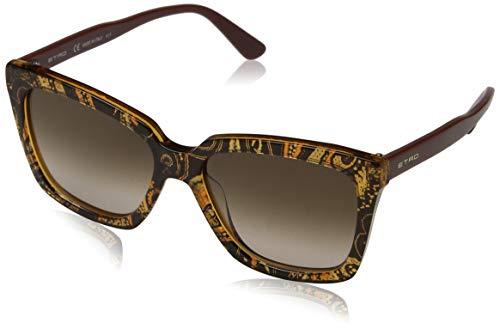 Etro et659s 802 55 occhiali da sole, arancione (orange/burnt paisley)