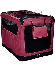 AmazonBasics Premium Folding Portable Soft Pet Crate - 42in