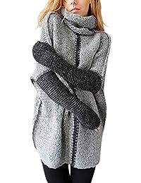 comprare on line bc718 b1564 Amazon.it: Maglia Donna Misto Lana - Maglioni / Maglioni ...