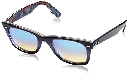 Ray-Ban Gradient Square Unisex Sunglasses - (0RB214011984O50|50|Mirror Gradient Blue) image