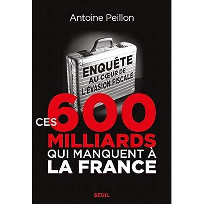 Ces 600 milliards qui manquent à la France. Enquête au coeur de l'évasion fiscale (HISTOIRE)