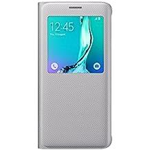 Samsung BT-EFCG928PSEGWW - Funda para Samsung Galaxy S6 Edge +, color plata