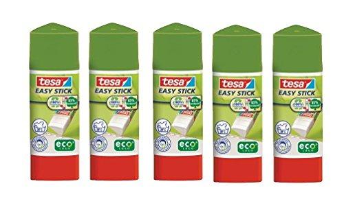 Tesa Easy Stick ecoLogo® 12 g - Lot de 5