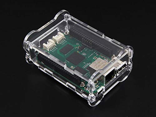 Usb To Ethernet Connector (Seeedstudio Acrylic Case For Beaglebone Green / 3mm acrylic / The enclosure provides slots to access the Grove, USB ports, Ethernet, SD card, HMDI, and JTAG connectors as well as feet and vents to ensure the board gets proper cooling)