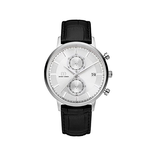 DANISH DESIGN Reloj Analógico para Hombre de Cuarzo con Correa en Cuero IQ12Q1215