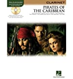 Klaus Badelt: Pirates Of The Caribbean (Clarinet). Partitions, CD pour Clarinette