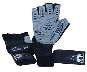 Fitness Handschuhe Trainingshandschuhe Profi Grip - Grösse L