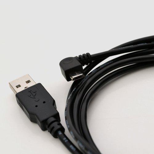 15-mplacard--angle-droit-USB-Alimentation-cble-de-charge-pour-voiture--TomTom-GO-5100GPS-Navigation-GPS