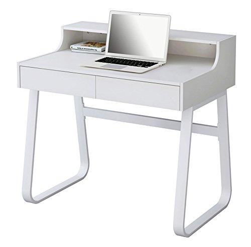 SixBros. Computerschreibtisch Schreibtisch Weiß CT-3532/1185