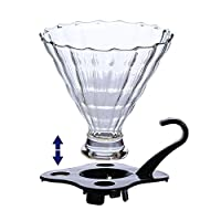 Tradico® reusable glass coffee dripper set home coffee brewing tools coffee drip maker bpa free box packing