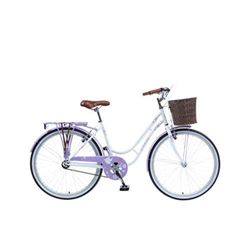 41hRyLTvoXL. SS500  - Viking Women's Paloma Bike, White/Lilac, Medium