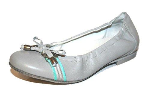 Cherie Kinder Schuhe Mädchen Ballerinas 7771 (ohne Karton) Grau