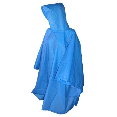 Totes Herren Regenjacke Blau