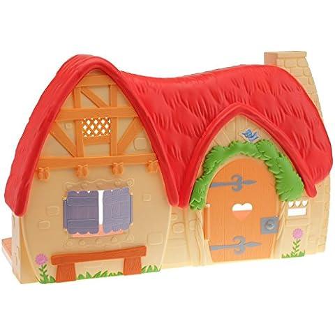 Mattel V1836 Princesas Disney - La casa de Blancanieves y los 7 enanitos