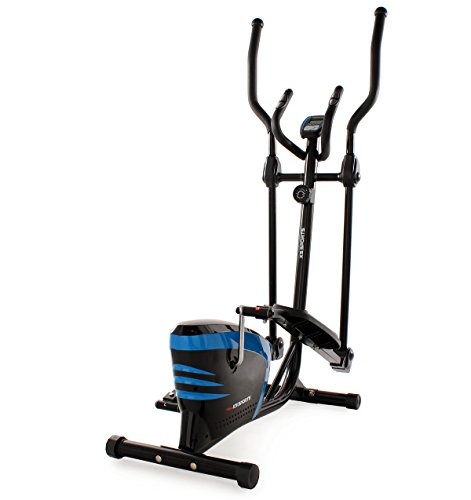 KS Cycling Fitnessgerät Crosstrainer Sports, Blau, 200F