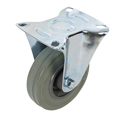 FIXMAN 873019 Gummi-Bockrolle 100 mm, 70 kg