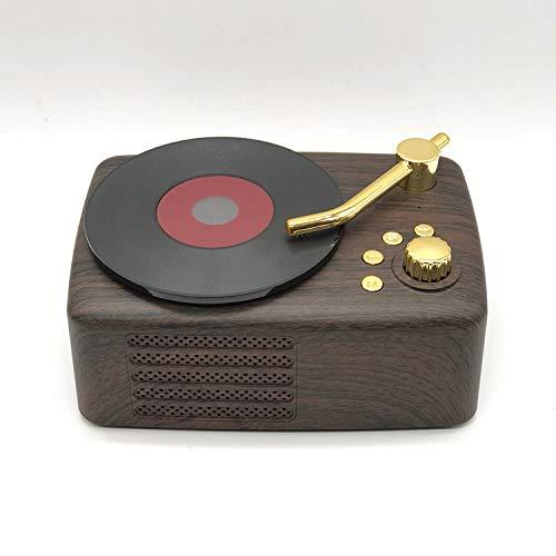 qiyanNew T12 Retro Phonograph Nostalgic American Wireless