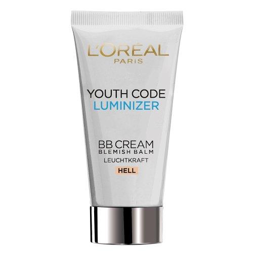 L'Oréal Paris Youth Code Luminizer BB Cream Hell, 50 ml (Loreal Youth Code)