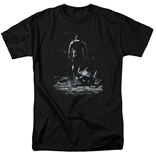 Dark Knight Rises The Bane Poster T-Shirt Größe L (Dark Bane Knight Rises)