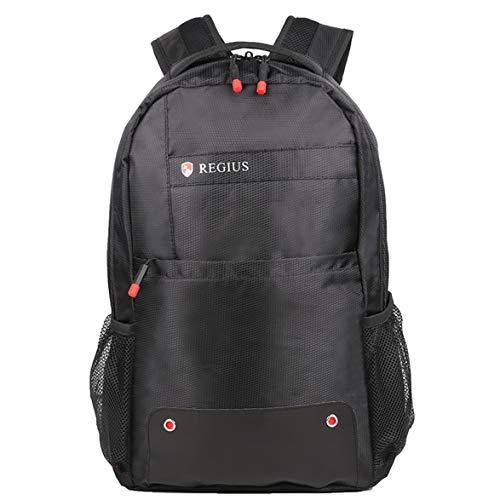 Preisvergleich Produktbild Kongqiabona REGIUS R8817 Hohe Kapazität Business Bag Wasserdichte Laptoptasche für Frauen Männer Weich Gepolsterte Atmungs Schultasche mit Mesh-Taschen