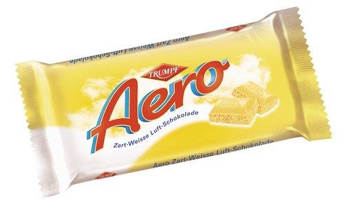 Preisvergleich Produktbild Trumpf Aero zartweiss, Luftschoko,  15er Pack (15 x 100 g Packung)