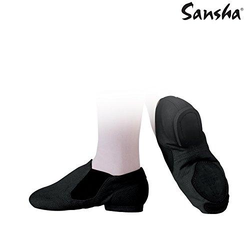 Sansha js33C moderno Scarpe di jazz Donna nero
