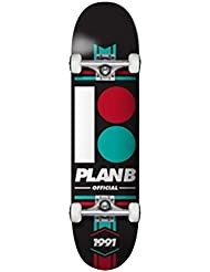 Plan B Team Official 7.75 X 31.5, Skateboard Complet Multicolore 7,75 X 31,5