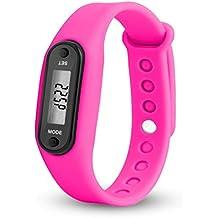 Toamen Ejecutar Step Watch Bracelet PodóMetro Contador De Calorias Relojes Digitales De La Distancia Que Recorre