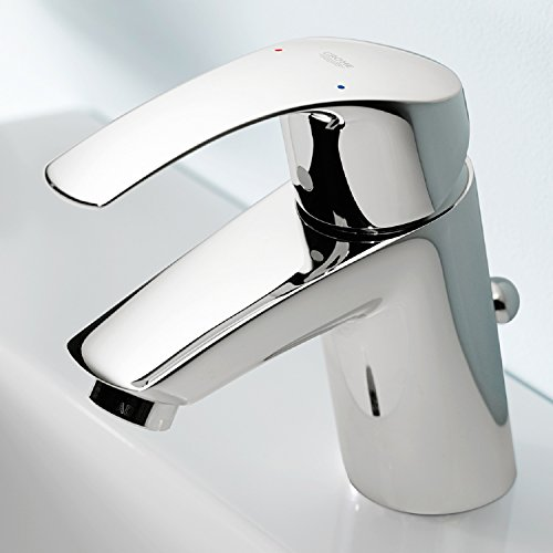 Grohe 33265002 Eurosmart Basin Tap S Pop Up Waste Save Money Every Day