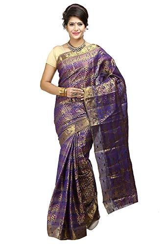 Fasherati Silk Saree (87-Kp-Voil_Violet) Tissue Silk Saree