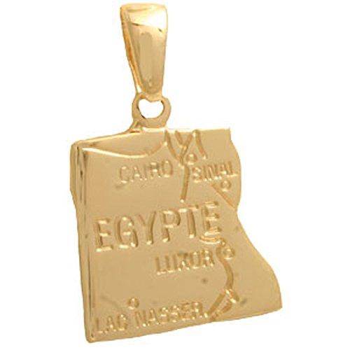 Cyllene Fantaisie-Colgante chapado en oro, Egipto